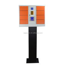 public cell phone charging station hot-selling 10 doors electric car charging stations