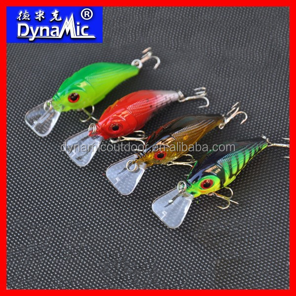 7.7cm 10.5g Hard Crankbaits Plastic Fishing Lure for Bass and Pike