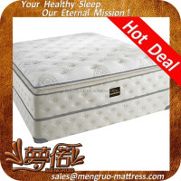 pillow top design bonnell sprung machine compress mattress