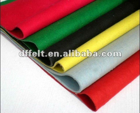 colorful wool felt fabric for speaker