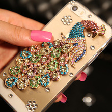 Factory Diamond Cell phone cases wholesale for iPhone 6S 6 plus 5 5S for Samsung galaxy A5 A3 case
