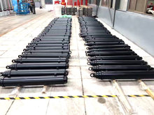 Telescopic hydraulic cylinder for dump truck/ trailer