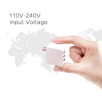 Quick charge 3.0 travel charger 3 port usb wall charger,high quality safety fast charger
