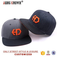Custom Wholesale Cheap 100 Wool Snapback Hat