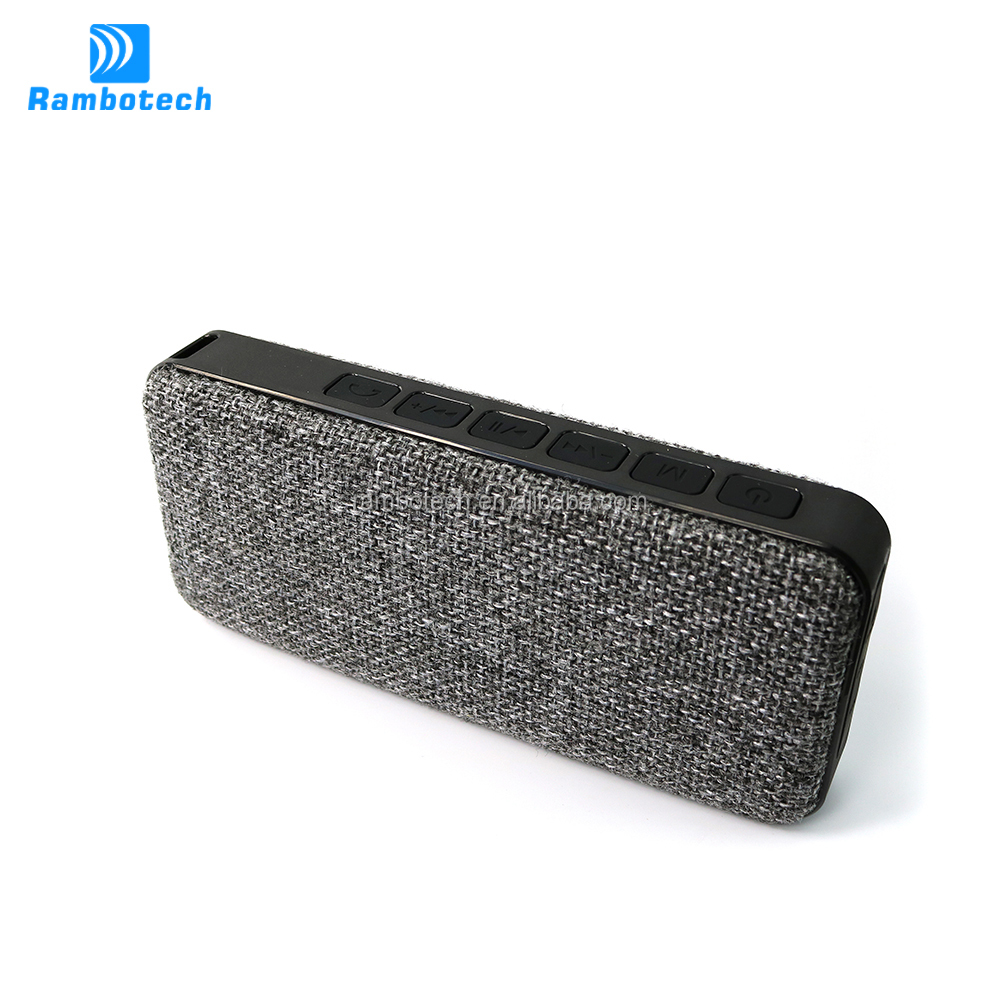 RS600 bluetooth v4.1 premium quality wireless speaker rechargeable with 7000mAh battery capacity,power bank function supported