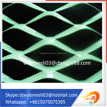 dongjie high quality plastic coated expanded metal, expanded metal mesh philippines