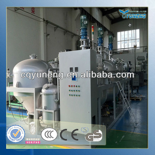 Black Used Industrial Oil Change Purifier System