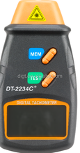 New Digital Laser Tachometer 2.5-100000 RPM Photo Tachometer Non Contact RPM Tach B151 (DT-2234C+)