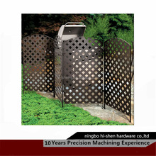 ningbo cheap decorative metal garden fence/fencing panels by laser cutting