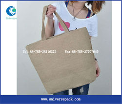 ladies elegent burlap bags with handles