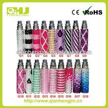 crystal diamond battery ego battery hot selling now