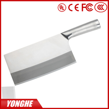 "Super 8"" Chinese Stainless Steel kitchen knife with hollow handle"