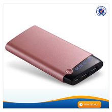 AWC960 New LCD Display Power Bank 10000mah 2.1A Dual USB Output Cell Phone Charger Wholesale Power Bank