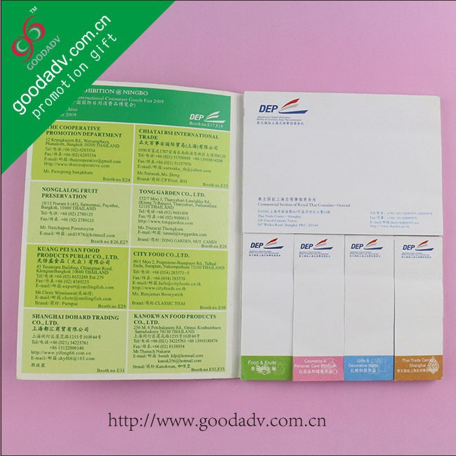 Hot sell New Advertising Promotional Gifts Sticky Notes Memo Set