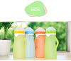 2017 new design medical grade 9 oz silicone baby bottle with walmart certificate