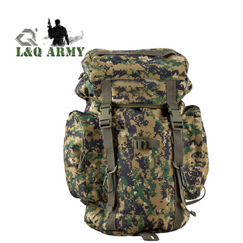 Army Style Rucksack Military Backpack Camping Bag