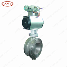 Triple Offset Stainless Steel Lug Wafer Flange tomoe butterfly valve