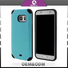 Fashion 2 in 1 PC + TPU hybrid shockproof brushed armor phone case for iPhone