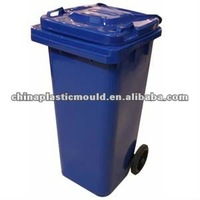 120 liter plastic wheeled container with EN840 Certified