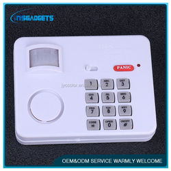 wireless home gsm with pir motion sensor , outdoor motion detector alarm system