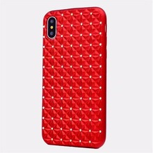 2018 New Items Glitter TPU Diamond Rhinestone Silicone Gel Phone cases case accessories for iphone X