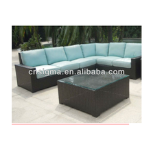 2018 Trade Assurance New Style colonial outdoor garden furniture rattan sofa set