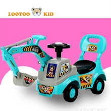 Alibaba china manufacturer hot sale kids ride on car rc construction toy children kid mini excavator