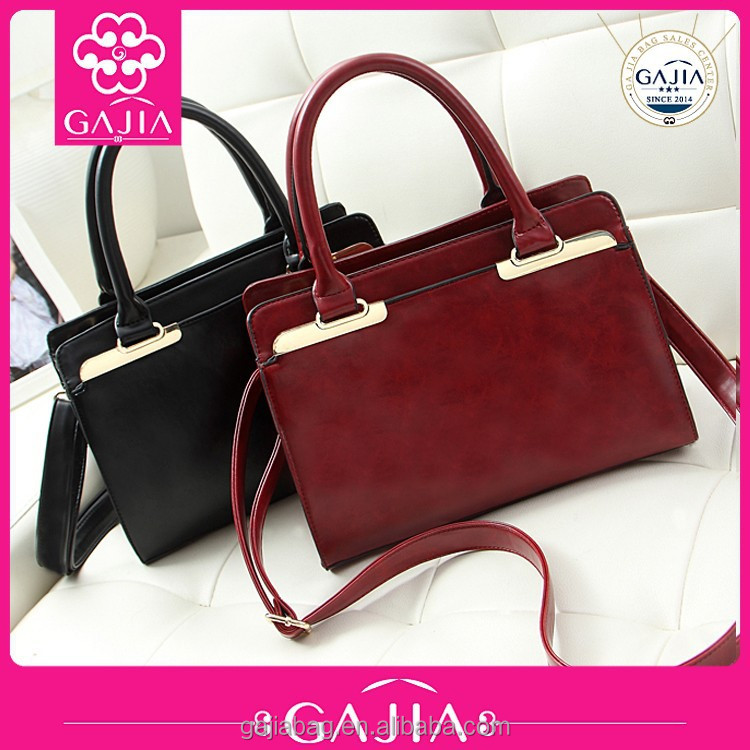 Alibaba hot new product for 2016 designer handbags from China factory with low price wholesale lady handbags