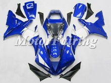 yzf r1 body kit for yamaha r1 2003 2002 yzf r1 fairing 02 03 r1 racing fairing blue white