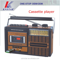 Classic cassette player FM AM SW radio with AC DC power