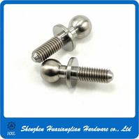 custom ball fasteners din71803 din 71803 m5 m6 m8 m10 ball stud/bolt/screws