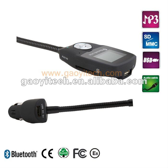 High quality Steering wheel Bluetooth hands-free car kit (B-688BT)