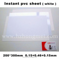 pvc sheet for photo album 200*300*0.15+0.46+0.15mm