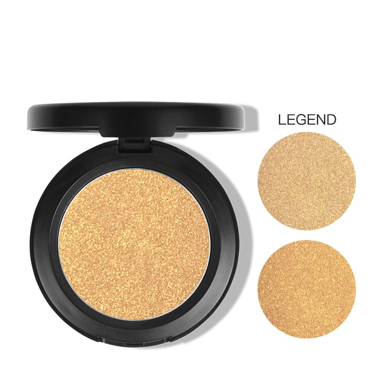 High-pigment naras longlasting makeup highlight single eyeshadow pan