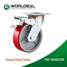 Heavy Duty Hard Wearing Polyurethane Caster Or Castor