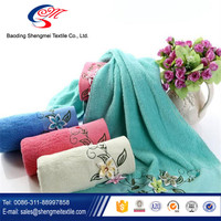 2016 factory supply high quality 100% cotton bath towel