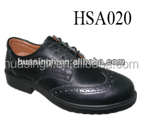 200J steel toe cap impact resistant military safety guard police shoes for men