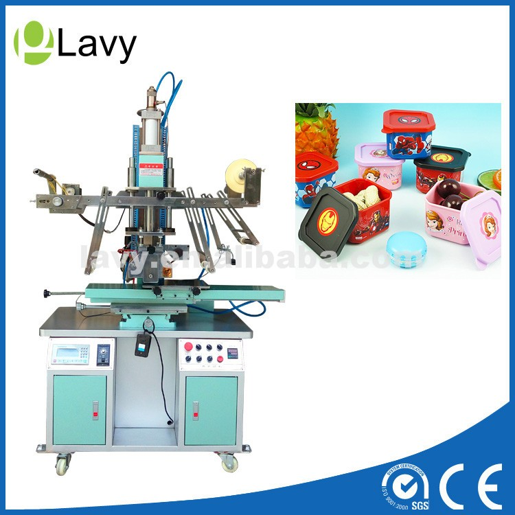 cylindrical / flat heat transfer machine