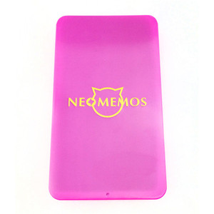 Factory wholesales pink colour metal phone case tin box