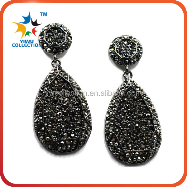 Newest Design Fashion Jewelry Piercing Earrings for Women diamond earring