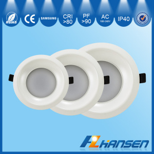 CCT Dimming Color Temperature Adjustable 8W Dimmable smd LED Downlight Recessed 220V