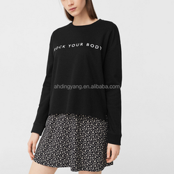 Runwaylover L766 Custom-Made 2018 Women Fashion Printed Pullover Hoodie