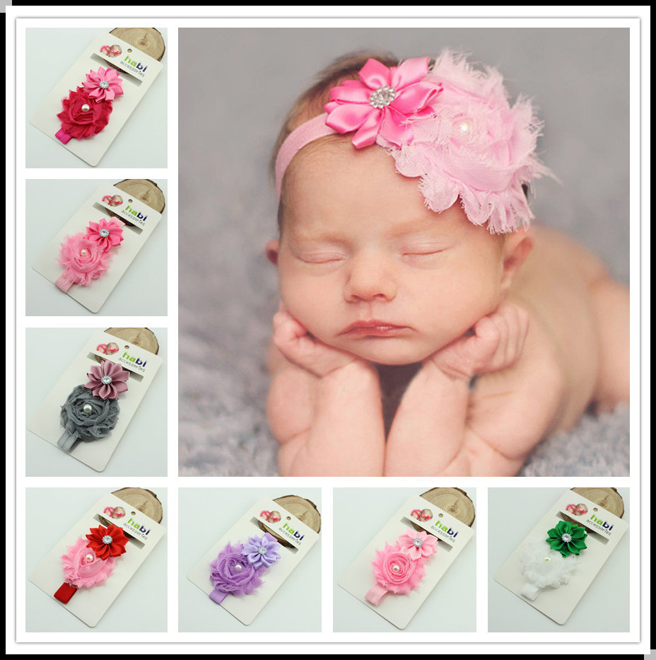 Cheap custom cute hair accessories top baby girl headbands
