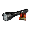 TrustFire TR-J19 4100 Lumens Led Strong Light Flashlight with 18650 Li-ion Rechargeable Battery