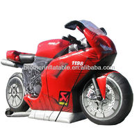 Inflatable Motorcycle Model Inflatable Motorcycle Model