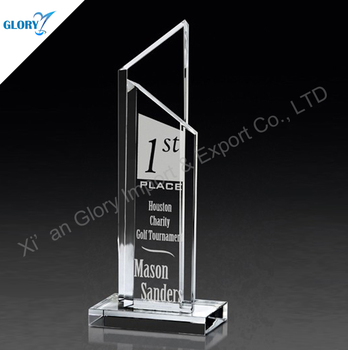 China crystal trophies sports trophies and awards for souvenirs
