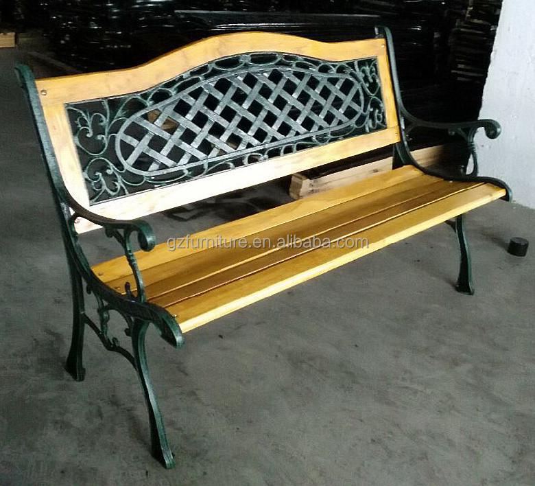 Outdoor patio furniture garden park bench size made in China