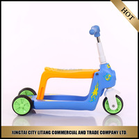 Wholesale Kids Pedal Hand Brake Best Off Road Cool Foldable Children Mini Funny Cheap Custom Frog Kick Scooters