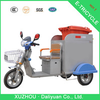 front load tricycle adult tricycle for garbage collection
