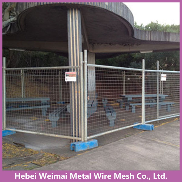2.1*2.4m metal temporary portable fence panels